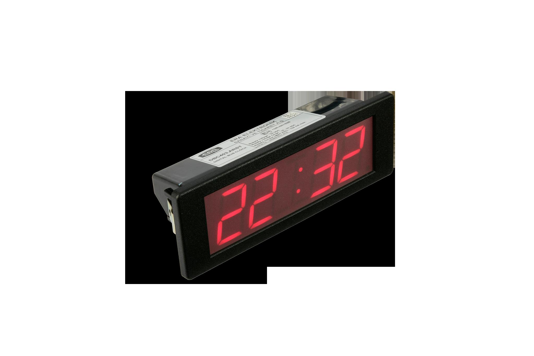 DIGITAL BUS CLOCK