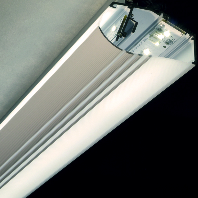 DIRECT & INDIRECT CONTINOUS LED LIGHTING SYSTEM